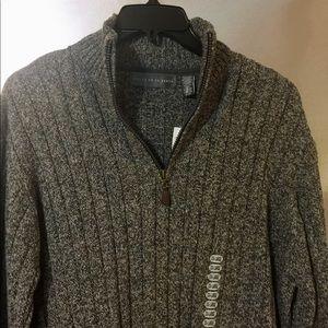*New* Oscar De La Renta 1/4 Zip Men's XXL Sweater